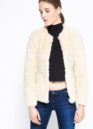 Новая меховая- куртка clrless new look