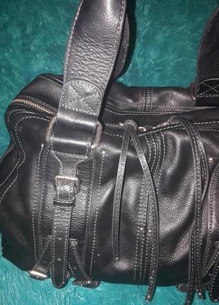 Качественная дорожная сумка из натуральной кожы