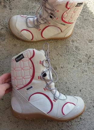 Р.38 salomon (оригинал) зимние ботинки, термоботинки.