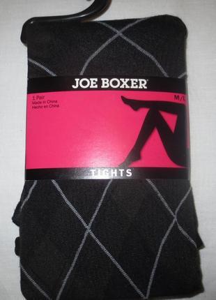Колготки joe boxer (usa) с рисунком,р.m-l<,60ден
