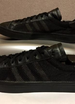 Кожанные с сеткой,оригинальные кроссовки originals adidas/адидас рефлективные,reebok nike