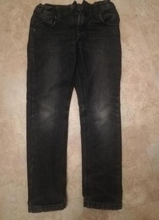Плотные джинсы на трикотажной подкладке