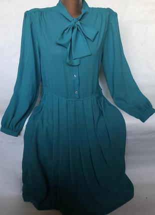 Шикарное бирюзовое платье