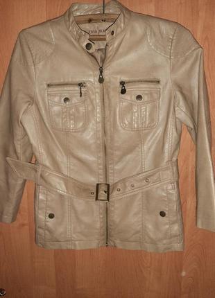 Курточка эко кожа