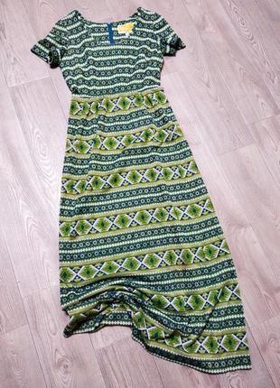 Красивое нарядное платье с люрексом длинное на высокий рост в пол