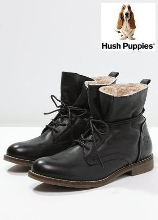 Тёплые кожаные ботинки от hush puppies оригинал 1000пар тут!