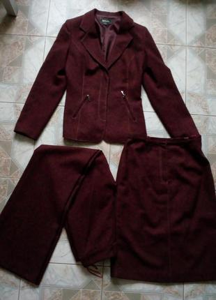 Женский костюм-тройка