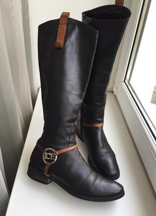 Ice жіночі чобітки, черевики/ женские кожа сапоги, ботинки, ботфорды италия