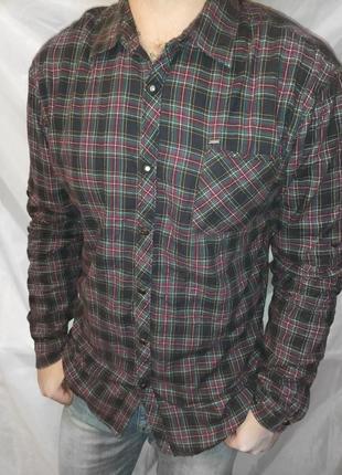 Scotch &soda теплая рубашка размер xl