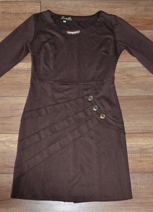Теплое платье joulie collection турция 40 р-р s-m