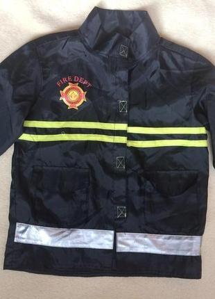 Крутая куртка пожарника костюм пожарник