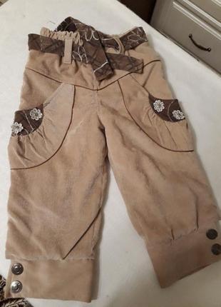 Тёплые штанишки на флисе