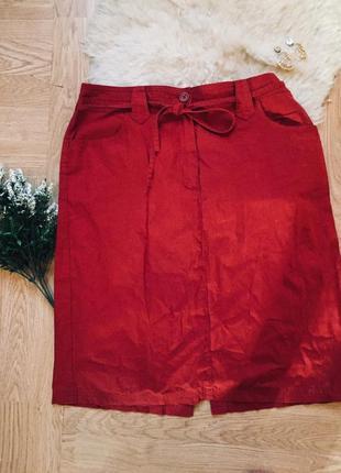 Классная юбка на завязке не поясе