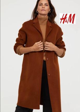 Пальто из шерсти и кошемира. h&m1 фото