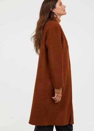 Пальто из шерсти и кошемира. h&m2 фото