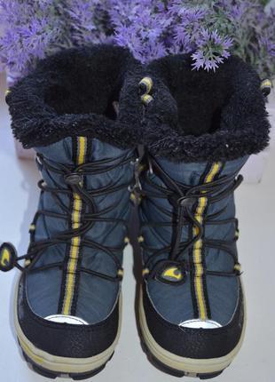 Зимние термоботинки viking с системой gore-tex р. 27