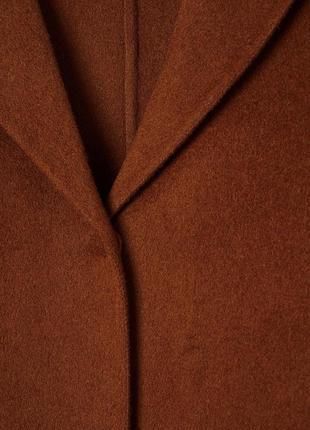 Пальто из шерсти и кошемира. h&m3 фото