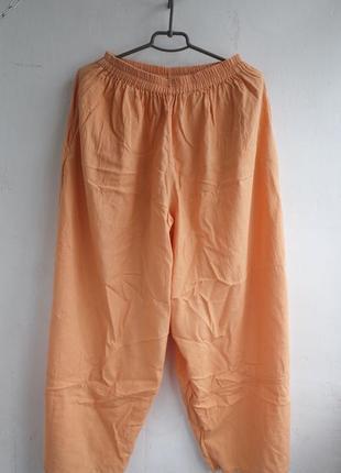 Льняные шаровары широкие штаны