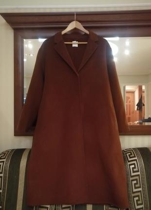 Пальто из шерсти и кошемира. h&m5 фото