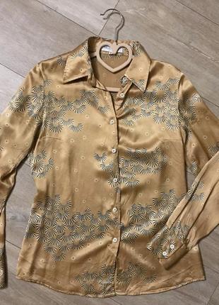 Рубашка шелковая 100% шёлк
