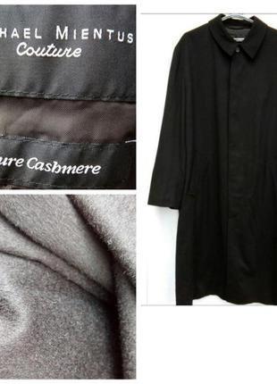 Длинное мужское пальто стильное пальто кашемировое