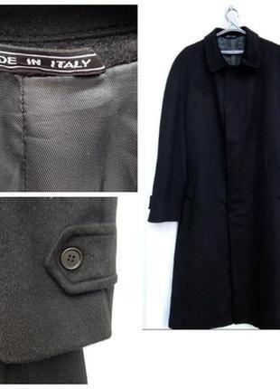 Кашемировое длинное пальто мужское