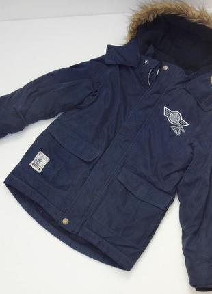 Topolino. зимняя куртка на флисе.