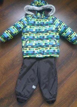 Зимний комбинезон комплект (куртка + комбинезон) lenne 92 (+6)