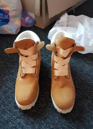 Ботинки зима timberland