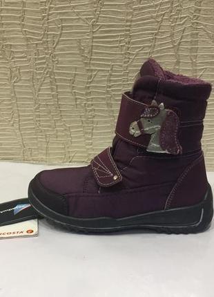 Сапожки зимние ботинки черевики термо ricosta германия р.28 (18см.)