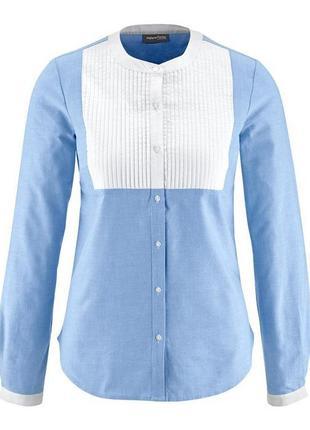 Хлопковая рубашка tcm tchibo