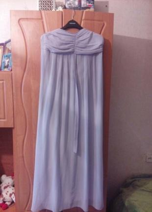 Вечернее,коктельное платье шифон в пол