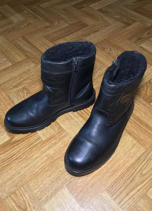 Ботинки сапоги осень зима 44