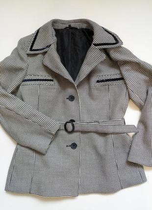 Винтажный костюм шерстяной