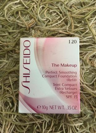 Рефил оригинал shiseido perfect smoothing spf15 компактный тональный крем-пудра