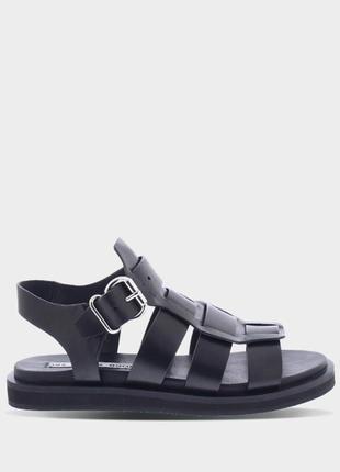 Крутые кожанные сандалии, босоножки от голандского трендового бренда bronx