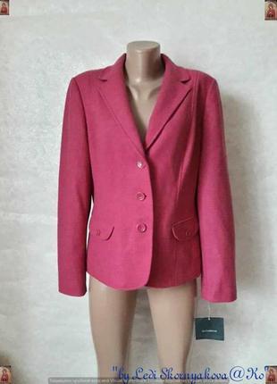 Фирменный liz claiborne пиджак/жакет/пальто со 100 % шерсти в розовом цвете, м-л