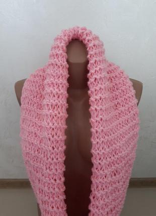 Нежно-розовый хомут 💔
