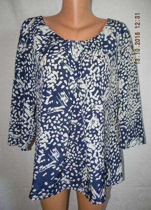 Новая блуза большого размера betty jackson