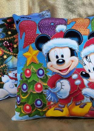 Декоративные новогодние подушки (возможен опт)