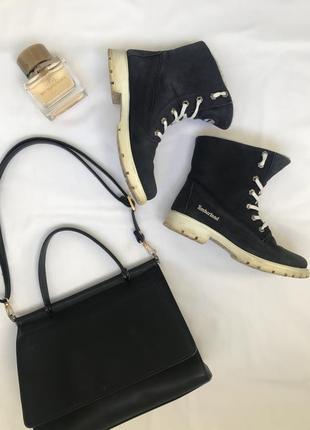Зимние timberland ботинки сапоги нубук