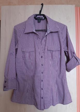 Блуза рубашка р.36 h&m
