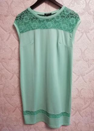 Платье цвета мяты р. 44-46