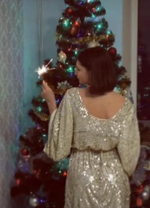 Праздничное платье в паетках можно на новый год , фотоссесию