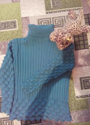 Гольф,свитер в рубчик