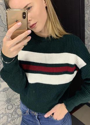 Зимний свитер goldi