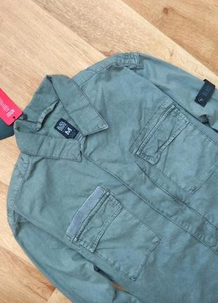 Black squad рубашка милитари