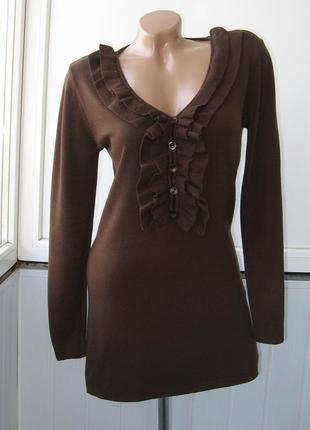 Платье теплое, зимнее