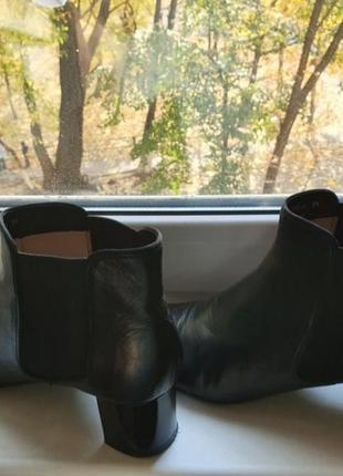 Кожаные ботинки carlo pazolini 39 размер