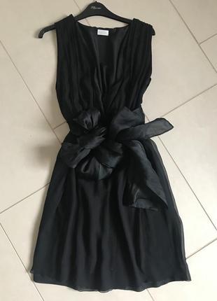 Платье шёлковое миди оригинал valentino размер s